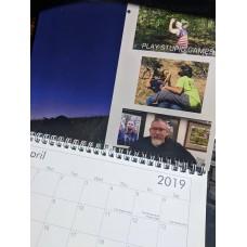 MOA Targets 2019 Calendar (free shipping)