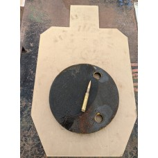"""1 Inch Thick AR500 Steel 12"""" Gong"""