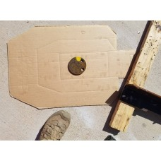 """OOPS 3/8 Inch AR400 4"""" Gong"""