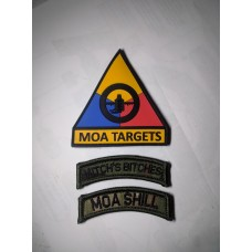 MOA Targets Brand MOA Morale Patches for Shills and Bitches