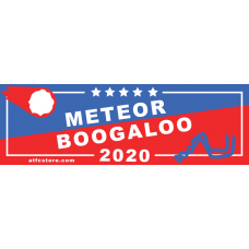 METEOR YARD SIGN